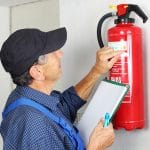 Fire extinguisher check up