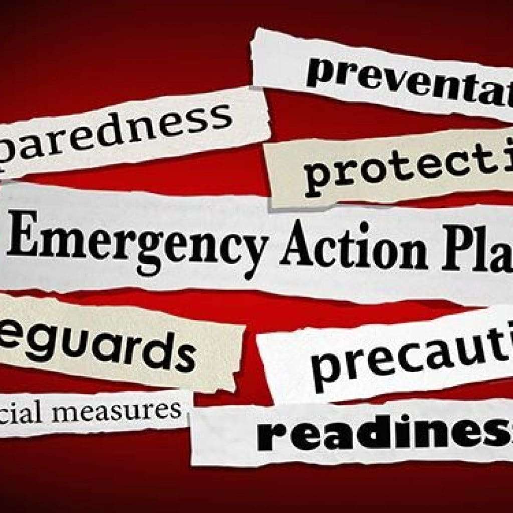fcs emergency action plan